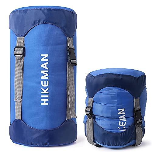 Lixada Saco de Compresión Saco de Dormir Saco de Cosas Resistente al Agua y Ultraligero Bolsa de Almacenamiento al Aire Libre Equipo para Ahorrar Espacio para Acampar Senderismo Mochilero