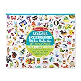 Melissa & Doug Sticker Collection Book: 1,000+ Stickers – Seasons and Celebrations