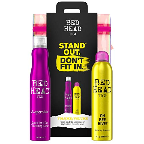 Bed Head by TIGI Volumizing Hair Gift Set for Hair Volume and Thickening