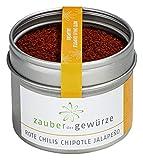 Zauber der Gewürze Rote Chilis Chipotle Jalapeno gemahlen, 55g, rauchiger Geschmack mit intensiver Schärfe