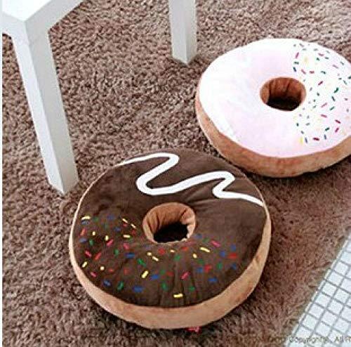 JJFU sierkussen vorm kussen hoofdkussen donut eengatmontage mooi achter ademend kussen eetkamerstoel kussen autokussen kantoorkussen @ B