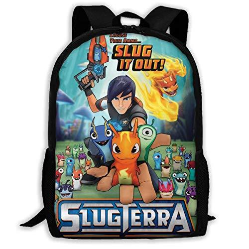 Slugterra Backpack College Outdoor Casual Travel Rucksack Daypack School Bag