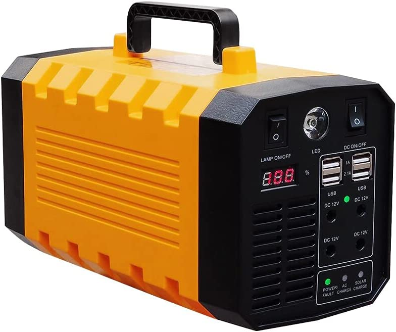 Portable Ups Energy Storage Power Supply 12v 500w Lithium Battery Power Bank for Laptop / Travel