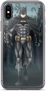 iPhone XR Pure Clear Anti-Scratch Shockproof Case Bat Man Family