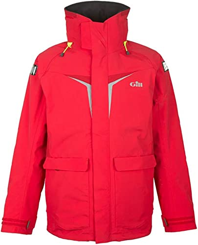 2018 Gill Junior Coastal OS3 Jacket rouge OS31JJ Tailles- - Junior Large