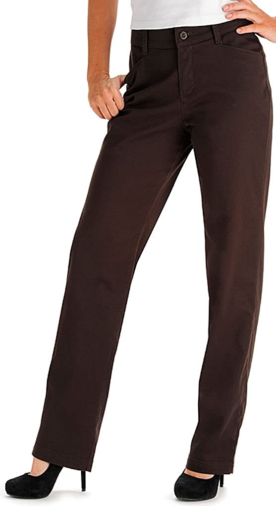 Lee Women's Misses Relaxed Fit Plain Front
