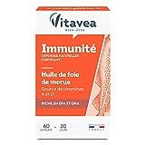 Vitavea- Huile de Foie de Morue - Oméga 3, Vitamine A Et D d'Origine...