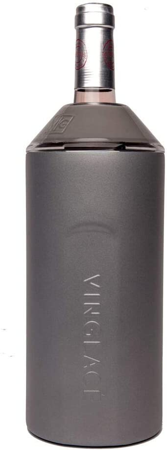 Vinglacé Wine free Bottle Insulator Stainless Steel Max 72% OFF Double Wal