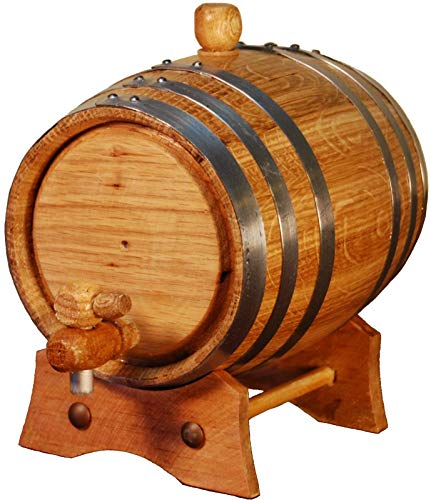 Spaniard Barrels & Coopers - Barril Artesanal de Roble Americano (1 Litro)