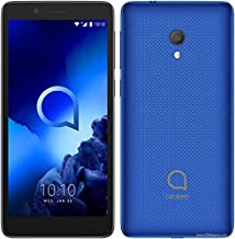 "Điện thoại di động Android – Alcatel 1C (2019) 5"" Display 16GB Memory 1GB Ram Factory Unlocked International Version-Android Cell Phone-Blue-"