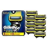 Gillette ProGlide Shield Mens Razor Cartridge Five-Bladed Razor Refills, 8 Count