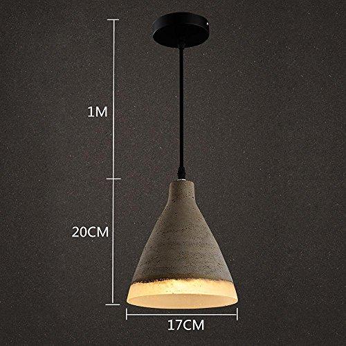 Retro industriële hanglamp Attico Café bar keuken ijzer messing kroonluchter