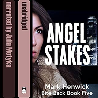 Angel Stakes audiobook cover art