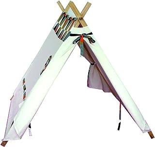 【木kara】 窓アリ パンナー(木枠)子供用可愛いテント!キッズ室内用/おもちゃ/ままごと/秘密基地/知育玩具/木製