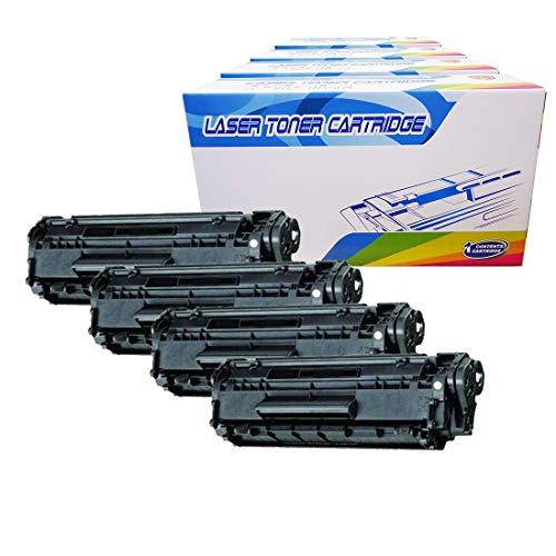 Inktoneram Compatible Toner Cartridges Replacement for HP CF279A 79A Laserjet Pro M12a M12w MFP M26a MFP M26nw (Black, 4-Pack)