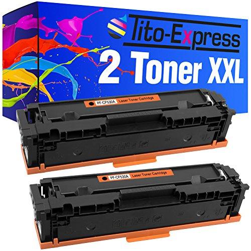 Tito-Express Platinum Serie 2 Toner cartridges XXL Black compatibel met HP CF530A 205A Color LaserJet Pro MFP M180FNDW M180N M180 MFP M181FW