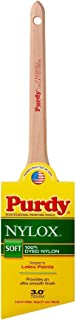 Purdy 144080230 Nylox Series Dale Angular Trim Paint Brush, 3 inch