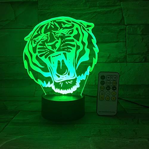 Fernbedienung oder Touch Control Tier löwen Haus Dekoration Lampe Spielzeug Geschenk Farbe Blitz ändern nachtlicht Geschenk