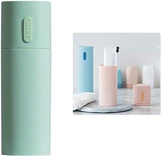 WhatUneed - Portaspazzolino da viaggio, porta dentifricio portatile, porta spazzolini da denti da campeggio, in plastica, ...