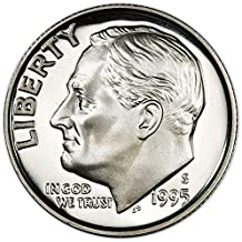 1995 S Silver Proof Roosevelt Dime Choice Uncirculated US Mint