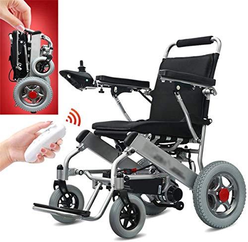 Elektro Mobilitätshilfe / Elektro-Rollstuhl mit 30Ah Li-Ionen-Akku, elektrisch betriebenen faltbare 500W Motor Sitzbreite 45 cm 360 ° Joystick, Behinderten älterer tragbarer Elektrorollstuhl, Schwarz