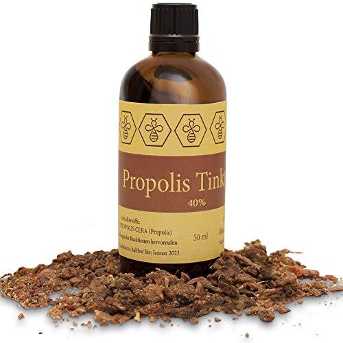 50ml NORDBIENCHEN teinture de propolis - avec 40% propolis - venue directement de l'apiculteur
