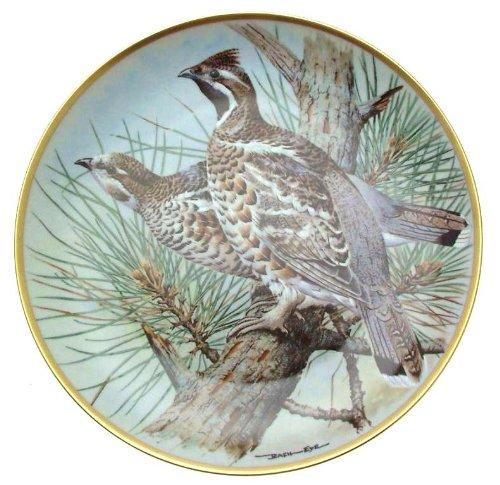 C1979 Haviland Limoges Franklin Porzellan Gamebirds der Welt Basilikum Ede Hazel Grouse CP1881 Teller