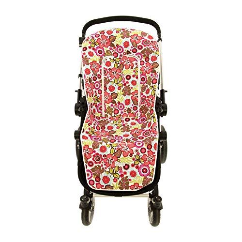 Colchoneta o funda de Paseo para silla Universal Rosy Fuentes en color fucsia