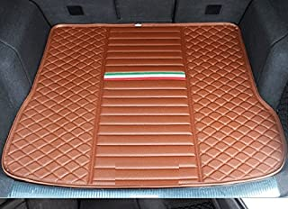 Eppar New Protective Trunk Mat 1PC for BENTLEY Bentayga 2015-2018 (NO Reserved Track, Brown)