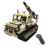 Ballylelly-MoFun-13012 2.4G 4H USB-Ladebaustein Caterpillar bewaffneter Raketenwerfer 608pcs DIY...