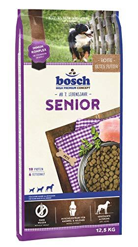 bosch HPC Senior | Hundetrockenfutter für ältere Hunde aller Rassen, 1 x 12.5 kg