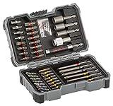 Bosch Professional Set de 43 unidades para atornillar y llaves de vaso (accesorios para taladro...