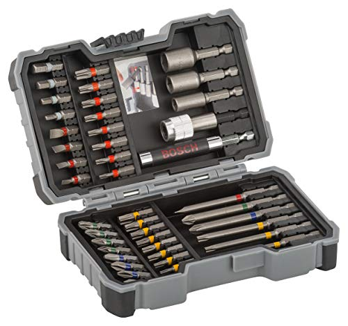 Bosch Professional 43-Piece Screwdriver Bit Set (Accessories for Drill Drivers)
