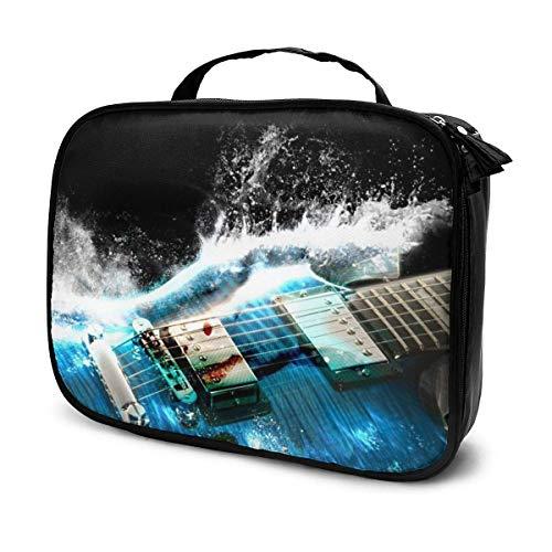 Bolso de tocador cosmético portátil al Aire Libre de Guitarra eléctrica, Bolsa...
