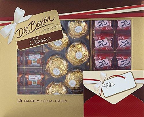 8 Boxen Ferrero Die besten Mix Pralinenmischung a 269g