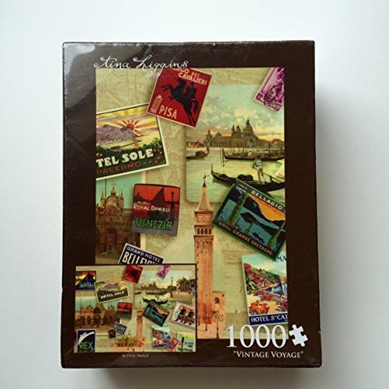 Vintage Voyage Tina Higgins 1000 PC Puzzle by Andrews + Blaine
