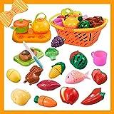 NextX Pretend Play Food, Preschool Play Kitchen Toys for Toddler