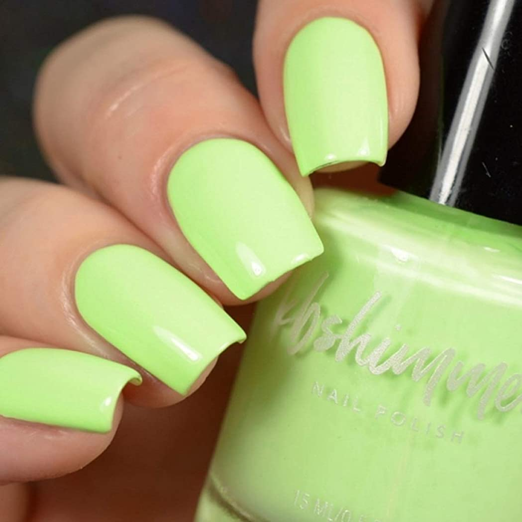恒久的枯れる理想的KBShimmer Nail Polish_Ready For A Good Lime [並行輸入品]