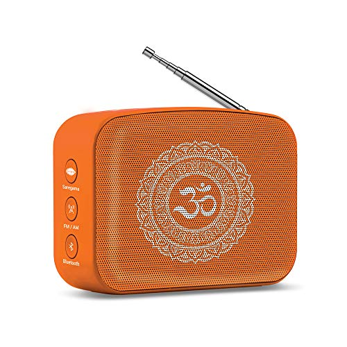 Saregama Carvaan Mini Bhakti Bluetooth Speaker (Orange)
