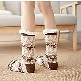 Immagine 2 2paia pantofole donna animali calze