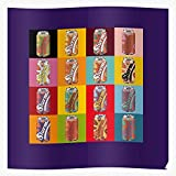 Moma Pop Colors Cans Slurm Soup Art Andy Warhol Tomato I Trendy Poster for Wall Art Home Decor Room - Customize