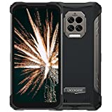 DOOGEE S86 Pro Unlocked Rugged Phone, P60 Octa-core 8GB+128GB Android 10, 16MP Triple Rear Camera + Infrared Thermometer, 6.1' HD+ IP68 Waterproof Smartphone, 8500mAh Battery Dual 4G Rugged Smartphone