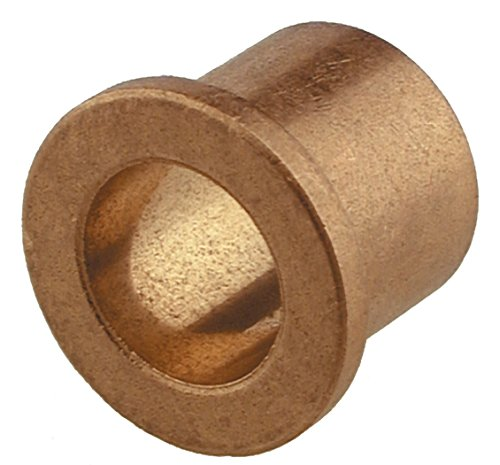 The Hillman Group 58102 Flange Bearing, Bronze 1/2 X 3/4 X 1 X 1/2-Inch, 4-Pack
