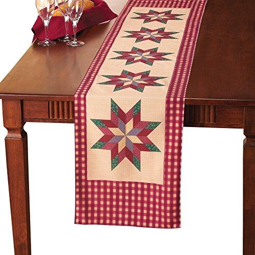Patchwork Country Star de ropa de mesa ropa de cama: Amazon.es: Hogar