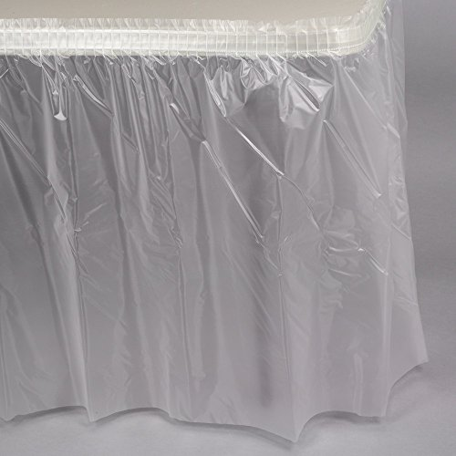amscan Clear Multipurpose Plastic Tablecover 1.37m x 2.74m-1 Pc