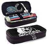 Danganronpa Mono-Kuma - Estuche portátil de gran capacidad, organizador de bolígrafos, bolsa de maquillaje multifunción
