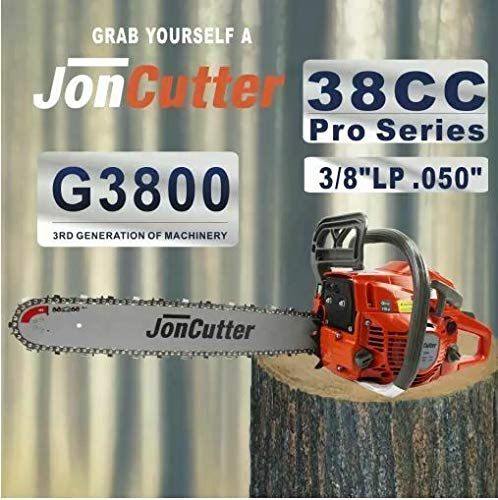 New 38cc JonCutter Home Use Gasoline Chainsaw Power Head No Bar/No Chain 2-4 dayy D
