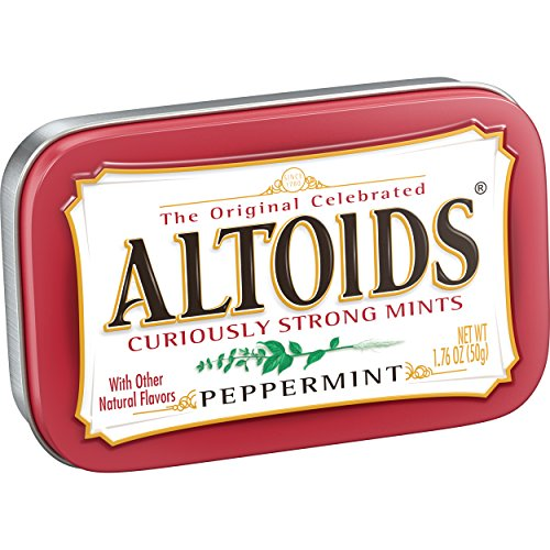 Altoids The Original Celebrated Curiously Strong Peppermint, paquete de 6 (6 x 50 g)