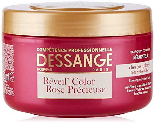 Dessange Wecker Color Rose Précieuse Farbbrille, Reparatur, 250 ml, 1 Stück