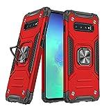 DASFOND Galaxy S10 Plus Case, Military Grade Protective